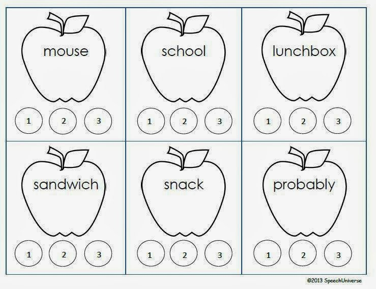 Syllable Worksheets For First Grade Worksheets For All
