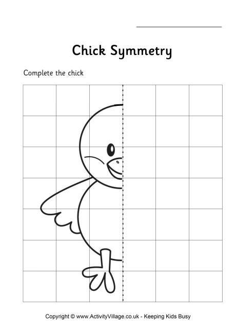 Symmetry Worksheets Kindergarten
