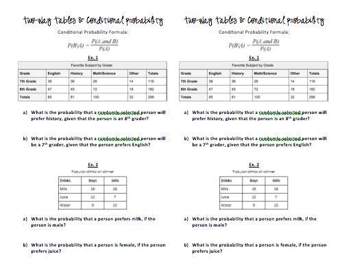 Teaching Probability Day 8