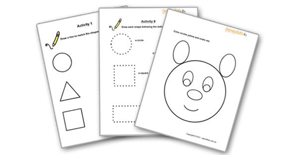 These Free Fun Maths Worksheets For Kids Help Toddlers And