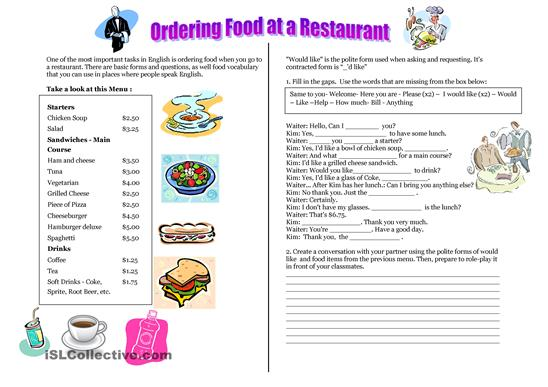 This Worksheet Features A Reading Exercise, A Fill In The Blanks