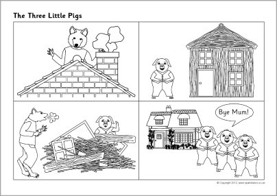 Three Little Pigs Teaching Resources & Story Sack Printables