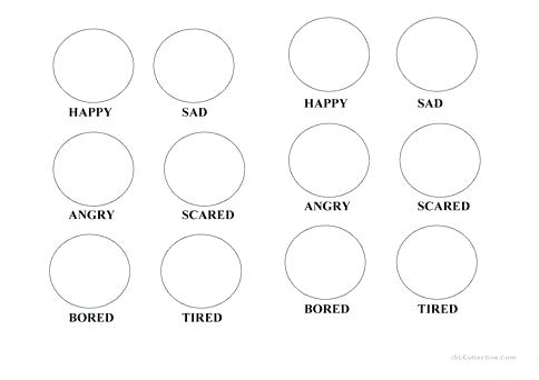 Top Emotions Coloring Pages Best Of Worksheet Free Printable 1 For