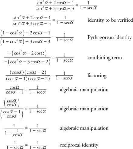 Trig Identities Worksheet Fundamental Identities Download