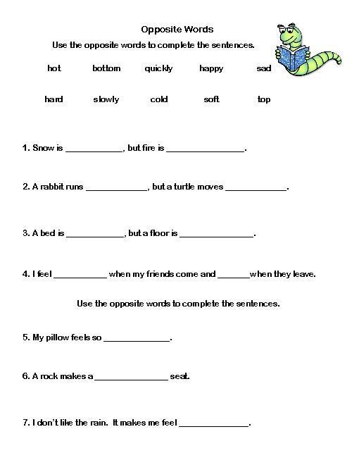Vocabulary Worksheets Grade 2 Worksheets For All