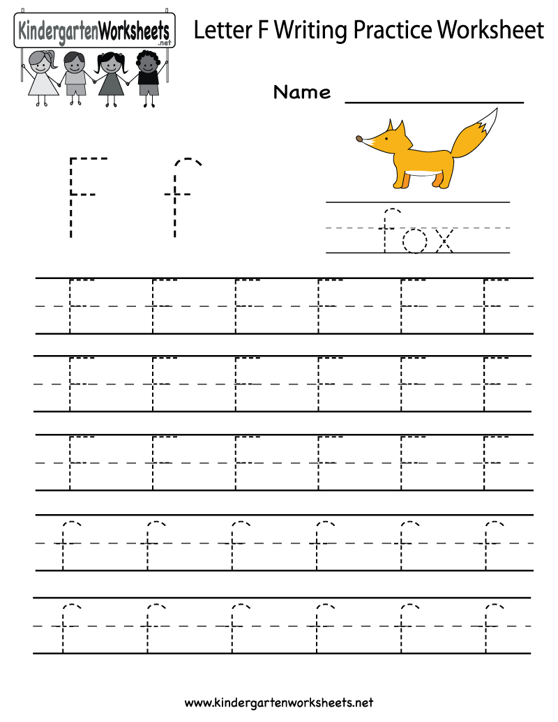 Worksheet  8001035  Letter F Worksheets For Kindergarten