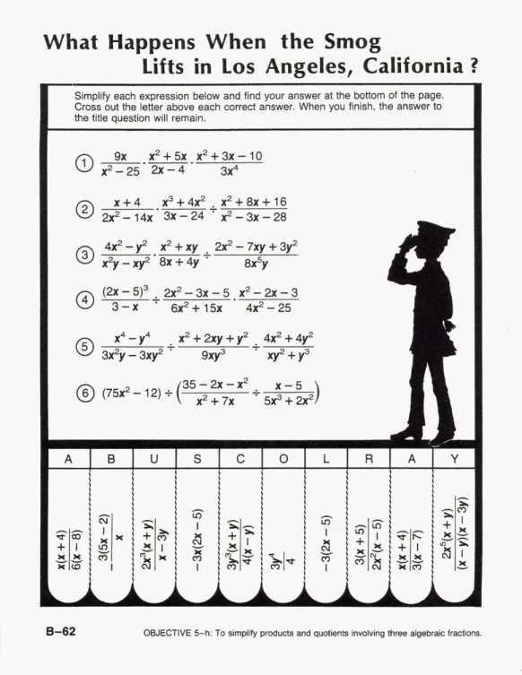 Worksheet Template   Worksheet   B 62 Did You Hear About Algebra