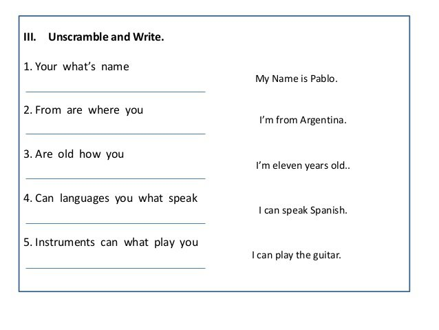 Write Your Name Worksheets Worksheets For All