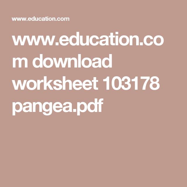 Www Education Com Download Worksheet 103178 Pangea Pdf