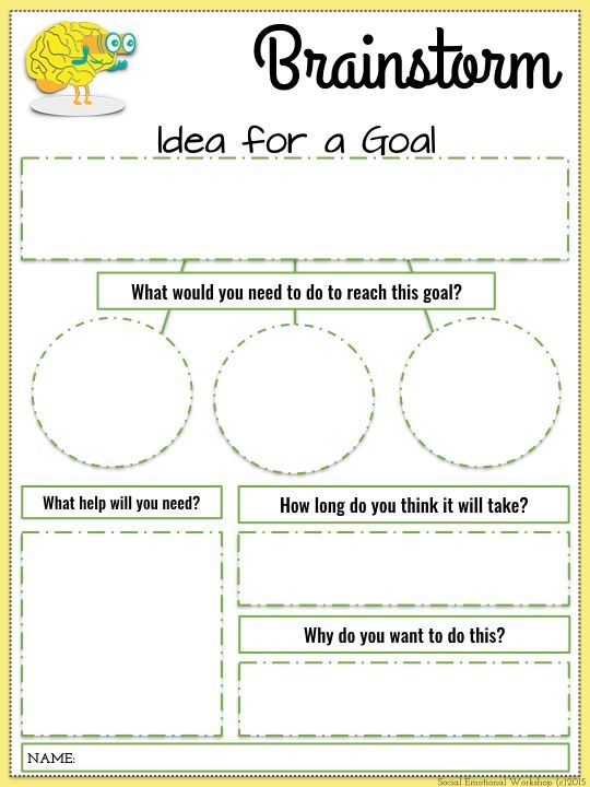 105 Best Goal Setting Images On Free Worksheets Samples
