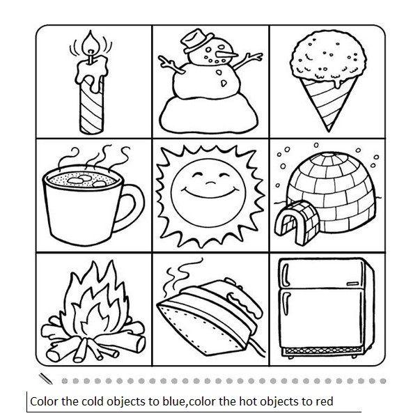 16 Best Hot Cold Science Images On Free Worksheets Samples