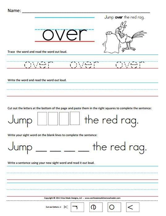 1st Grade Tracing Worksheets Worksheets For All