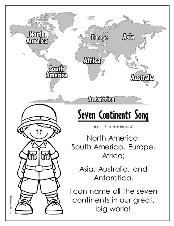 507 Best Continents Images On Free Worksheets Samples