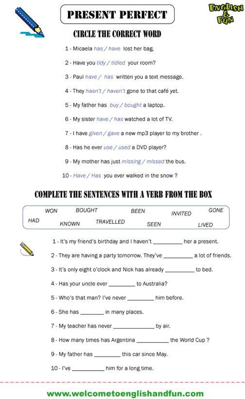 605 Best English Grammar Images On Free Worksheets Samples