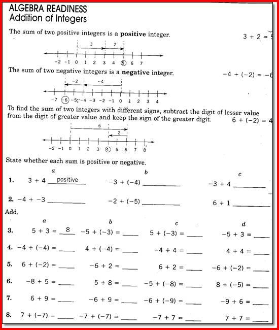 8th Grade Math Worksheets Math Worksheets For 8th Grade 8th Grade