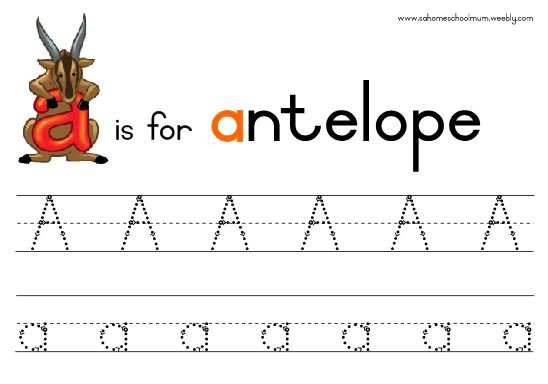 A To Z Alphabet Tracing Worksheets Worksheets For All