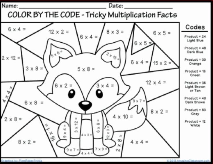 Addition Coloring Pages 1st Grade