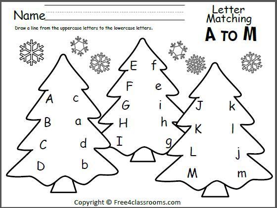 Agreeable Christmas Worksheets Free Preschool In Free Printable