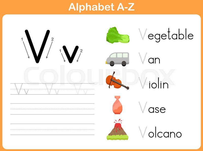 Alphabet Tracing Worksheet  Writing A