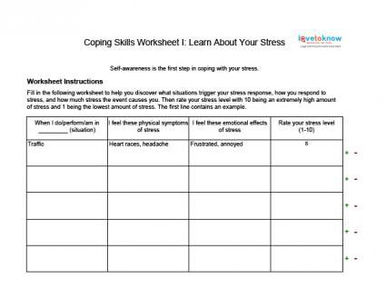 Anxiety Worksheets For Adults Worksheets For All