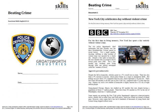 Beating Crime