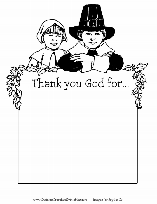 Best Image Gallery Of Printable Religious Thanksgiving Coloring