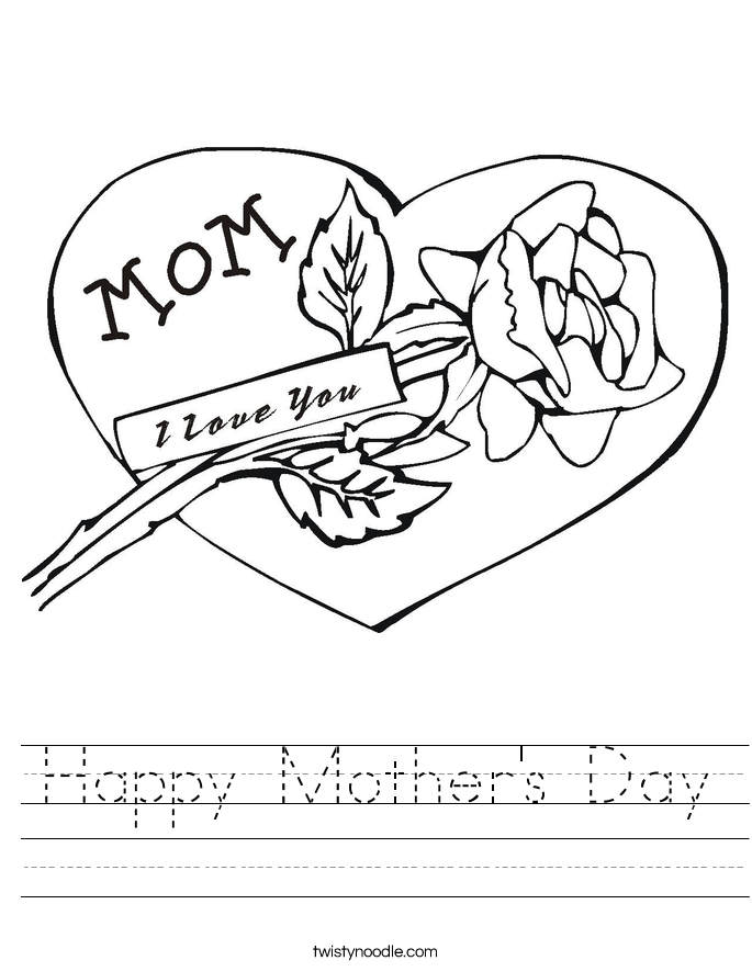 Best Solutions Of Mothers Day Worksheets For Service