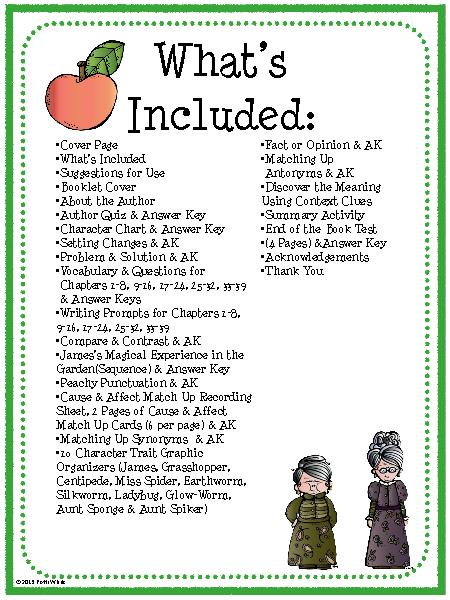 Bunch Ideas Of James And The Giant Peach Worksheets In Service