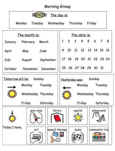 Calendar Practice Sheet Worksheets For All