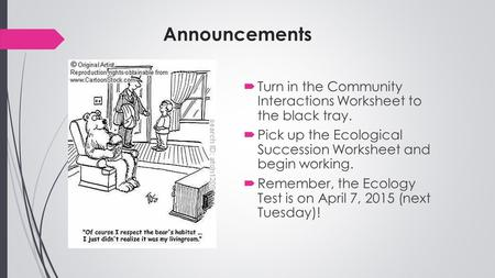 Community Ecology I  Biodiversity Community  Any Assemblage Of