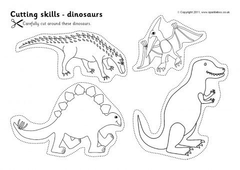 Cutting Skills Worksheets – Pictures (sb4547)