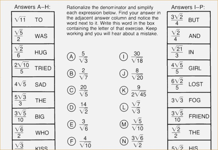 Did You Hear About Math Worksheet The Best Worksheets Image