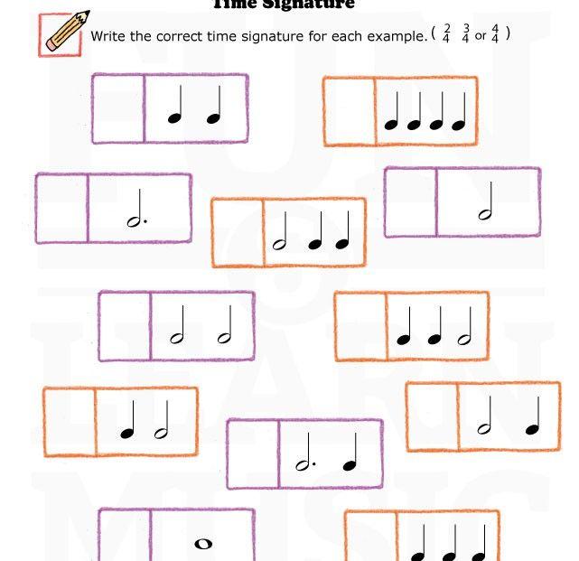 Easy Level Music Worksheet!
