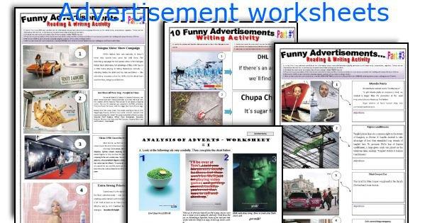 English Teaching Worksheets  Advertisement