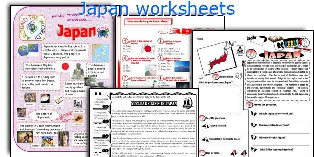 English Teaching Worksheets  Japan