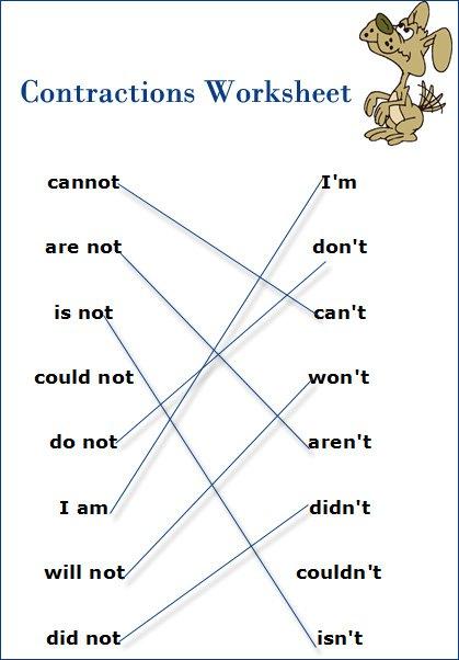 English Worksheets For Esl Students