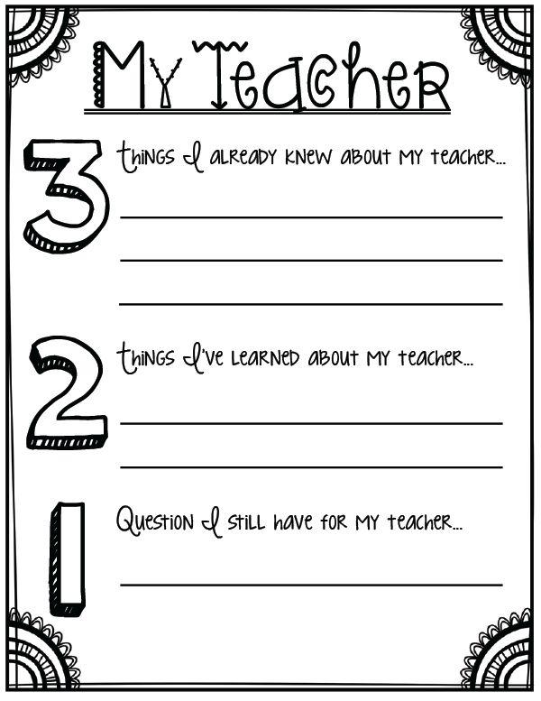 First Grade Teacher Worksheets Worksheets For All