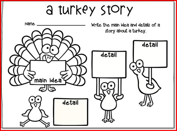 First Grade Thanksgiving Worksheets Worksheets For All