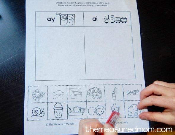 Ai And Ay Worksheets Grade 2