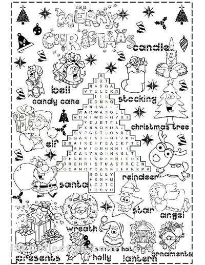 Free Christmas Worksheets Printables Free Worksheets Library