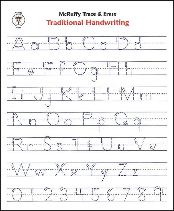 Free Printable Alphabet Writing Worksheets For Kindergarten
