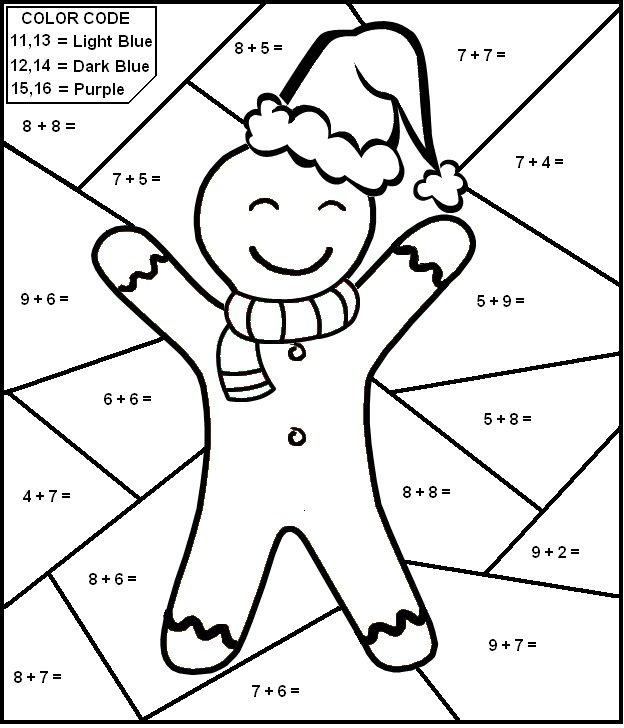 Free Printable Christmas Math Worksheets – Fun For Christmas