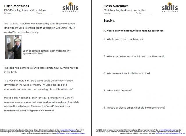 Free Printable Life Skills Worksheets For Adults Worksheets For