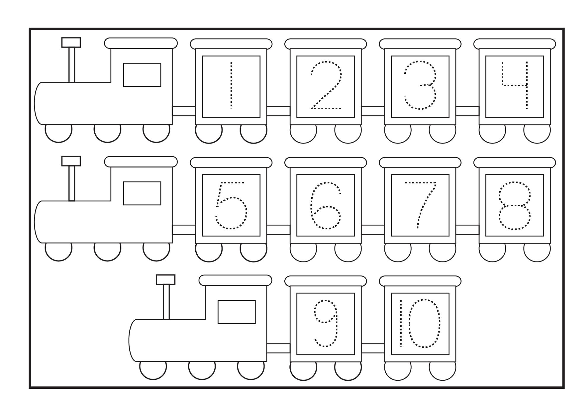 Free Printable Number Tracing Worksheets Number Tracing Girls Wfun