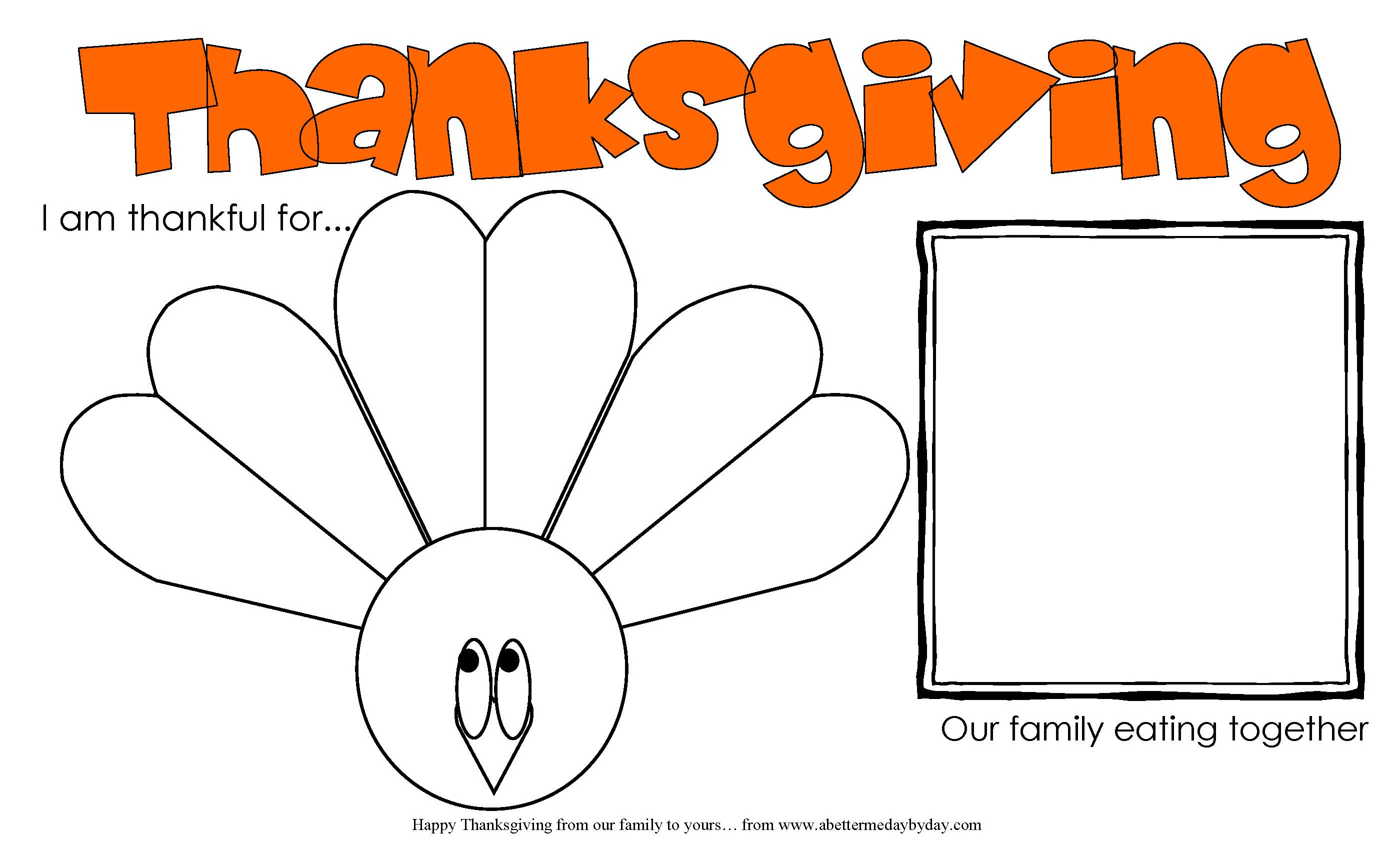 Free Thanksgiving Activities Worksheets For All