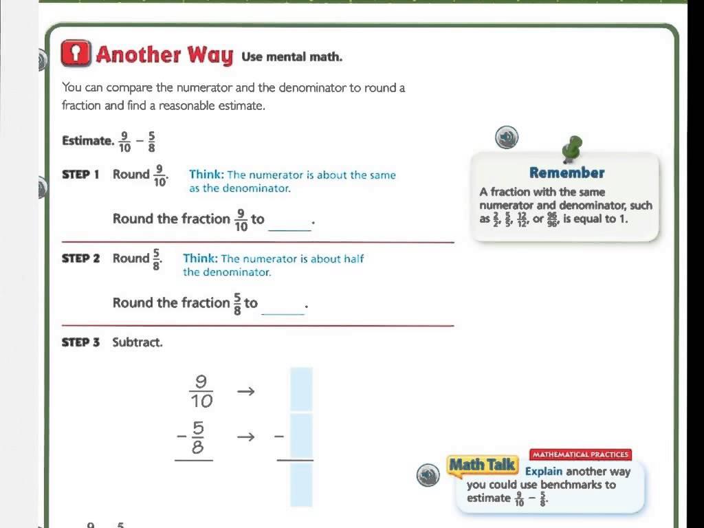 Go Math Grade 5 Printable Worksheets The Best Worksheets Image