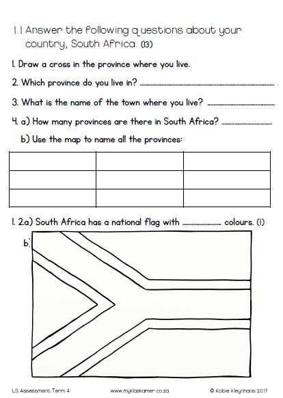 Grade 2 Life Skills Assessment Term 4 Task + Memo » My Klaskamer
