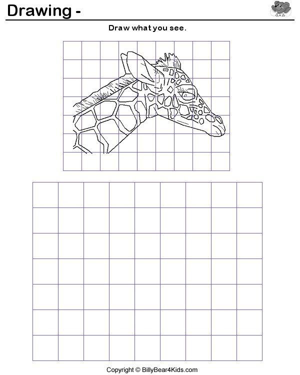 Grid Drawing Lesson Plan   Enare