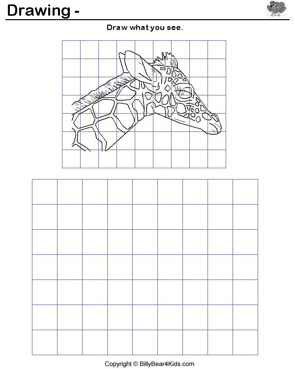 Grid Drawing Worksheets High School Worksheets For All