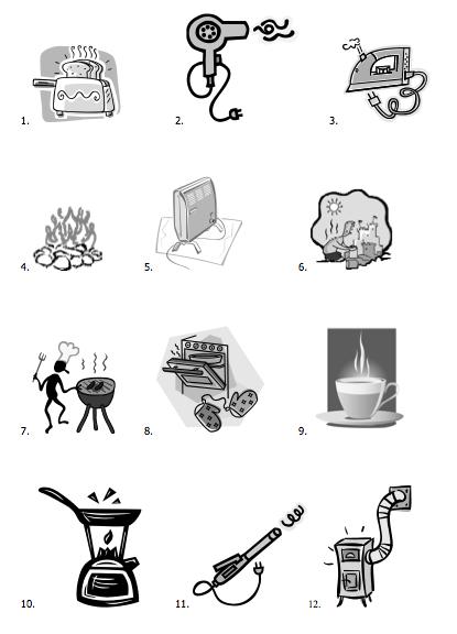 Heat Energy Transfer Worksheet